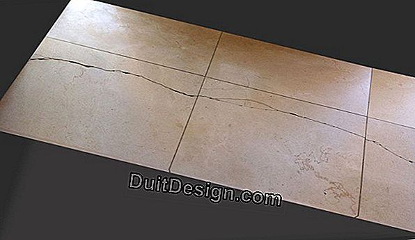 How to change a cracked tile?