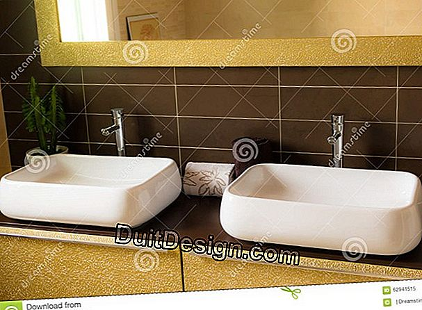 How to furnish a bathroom?
