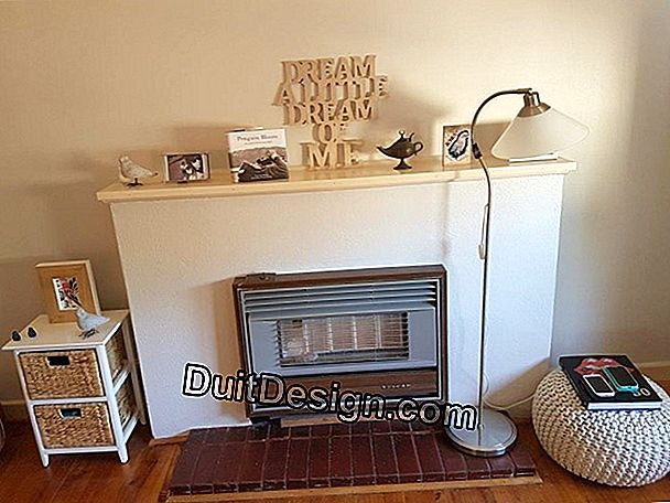 Renovate an old fireplace