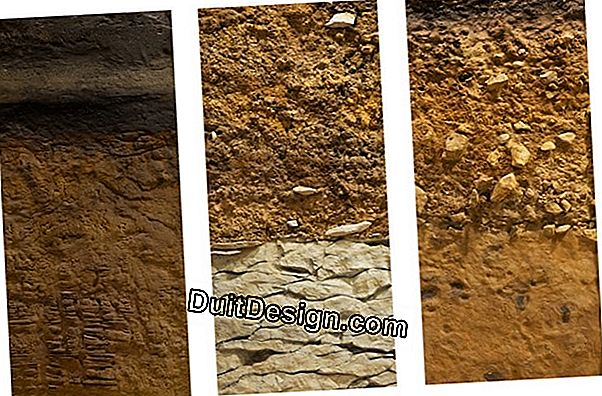 The different types of soil
