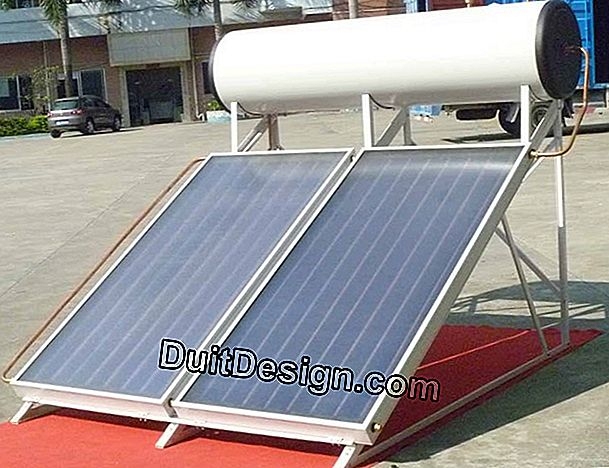 Insufficient performance of a solar water heater