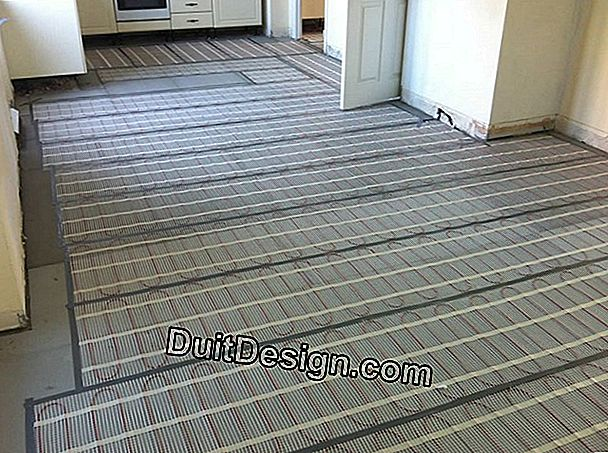 Which parquet for underfloor heating?