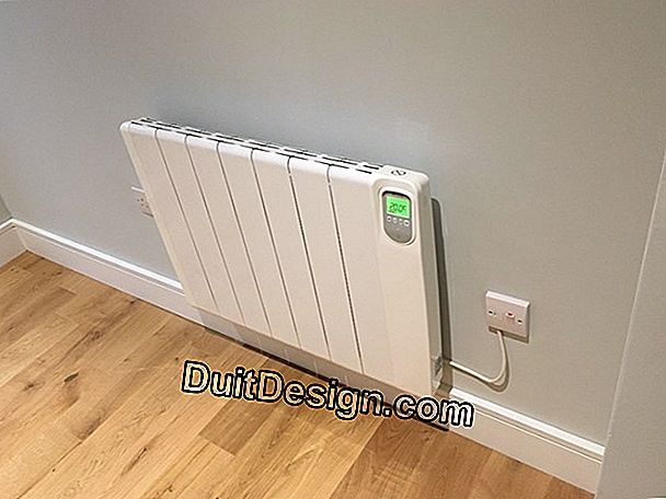 Electric radiator with heating body