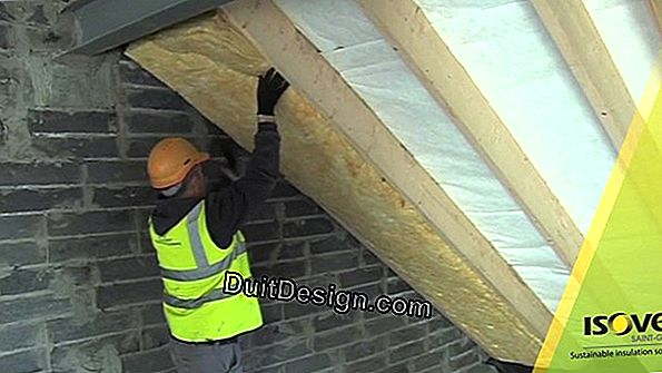 Roof insulation with Isover