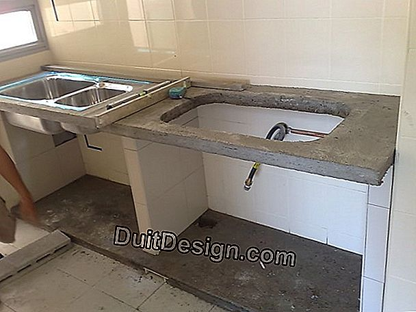 How to support a sink?