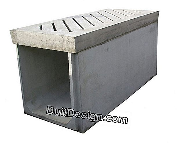 Passage of ducts on a concrete slab