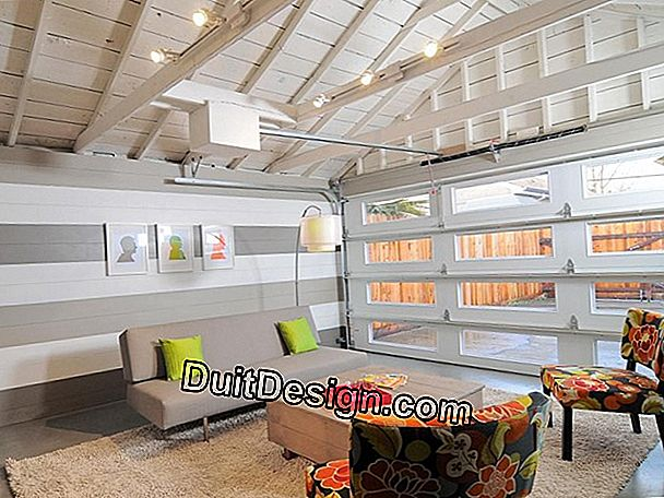 Convert a garage into a living space
