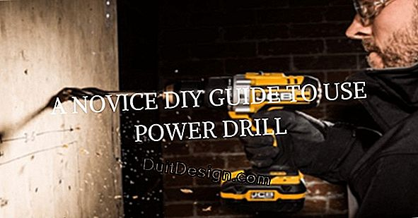 Use a power drill
