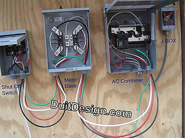 How to install a network decoupler on its electrical panel?