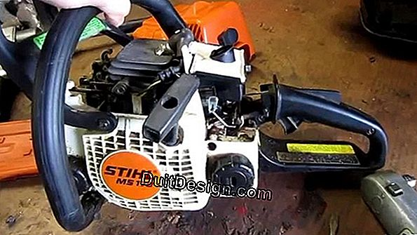 Repair a chainsaw: no more problems starting!