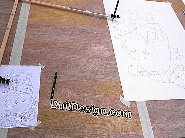 Make a pantograph to draw