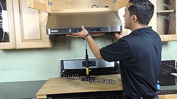 How far is a fume hood and a cooktop?