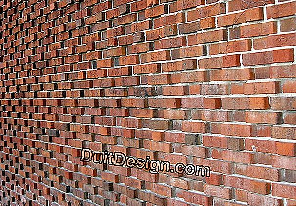 Decorative brick walls