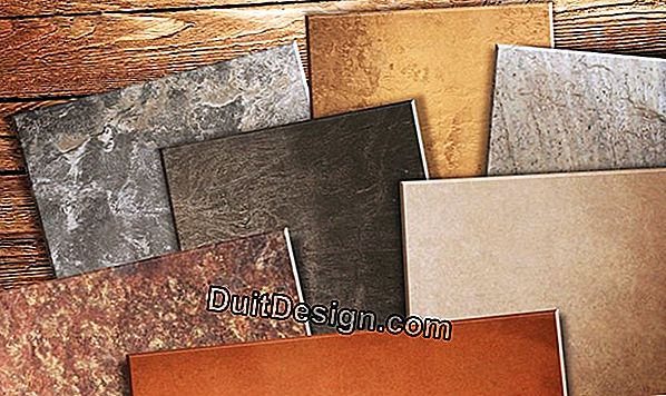 The different types of tiles