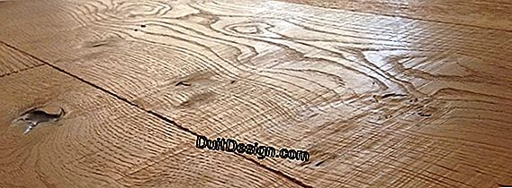Distance between the blades of an old parquet: what to do?