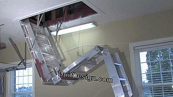 The retractable staircase