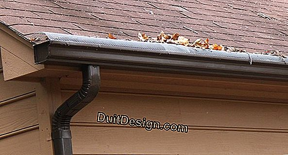 Clogged gutter: what to do?