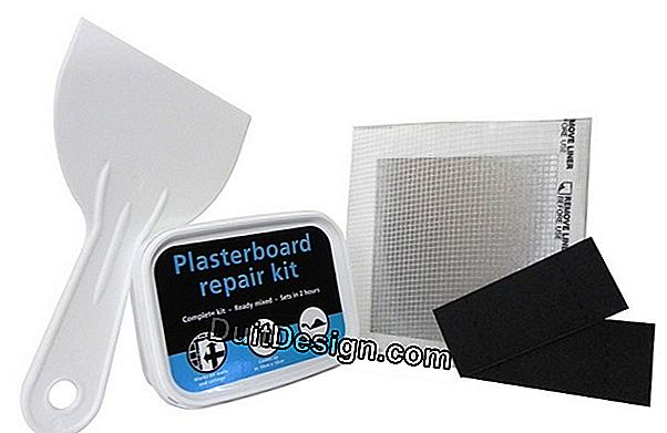 Plaster kit, ready to use