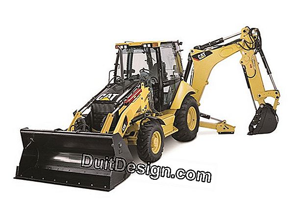 Rent a backhoe loader to perform an earthmoving