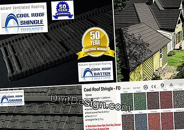 Roofs: standards of aesthetics and color