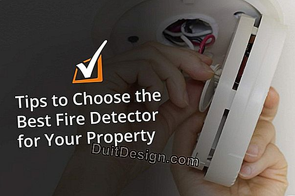 Smoke detector: choose a detector that complies