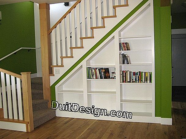 Stairs with built-in storage