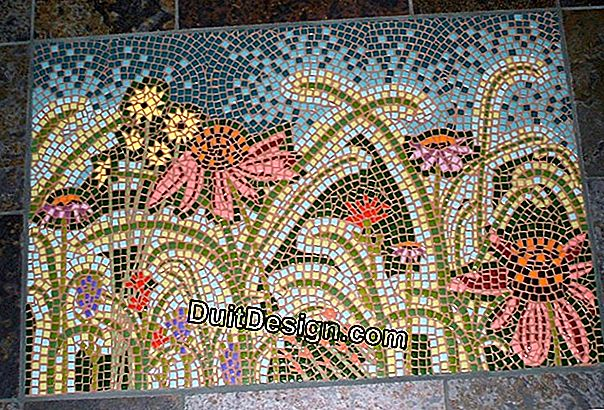 The mosaic tile
