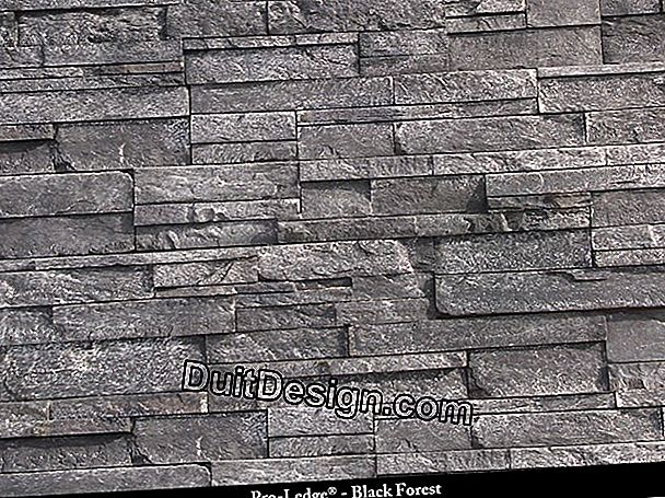 Slate wall claddings