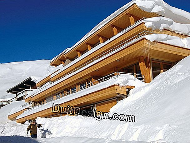 Buy an apartment or a chalet in a ski resort