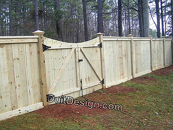 How to choose a fence properly?