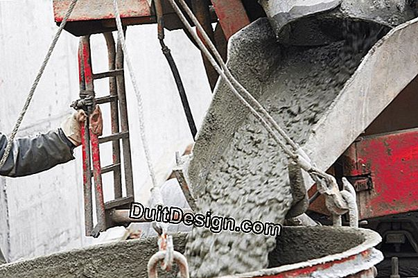 Mixing of ready-mixed concrete, mortar-joint and leveling mortar