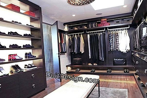 10 Tips to optimize a walk-in closet