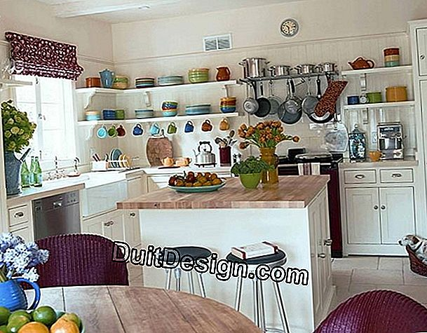 Set up an open kitchen