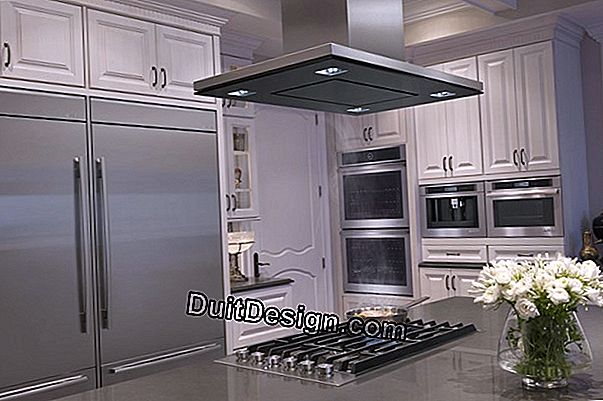 How high for a kitchen hood?