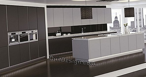 The linear kitchen