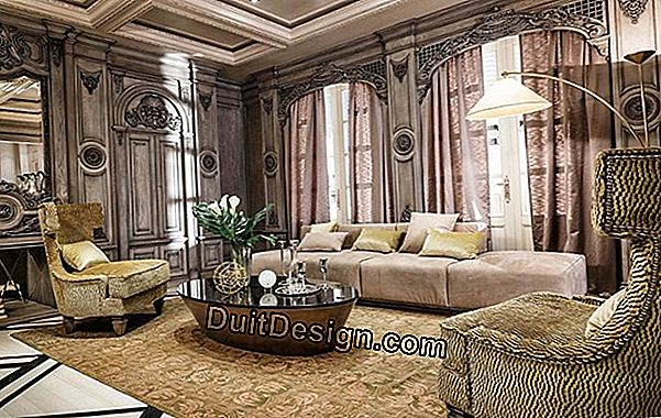 Neoclassical style in home decoration