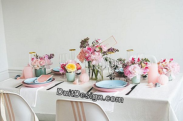 The pastel decoration
