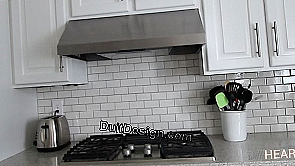Replace a kitchen hood