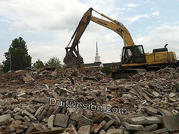 What demolition rates for a building?