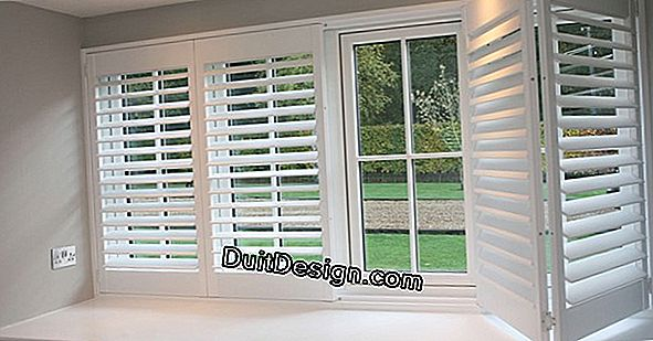How to choose your shutters?
