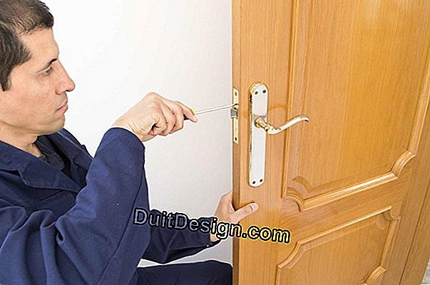 The intervention of a locksmith at the weekend