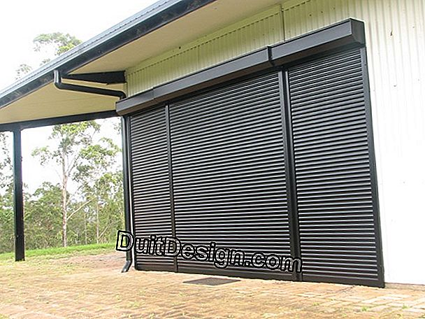 Prices and prices of a rolling shutter