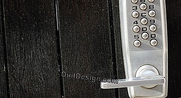 Quote for the installation of a door lock