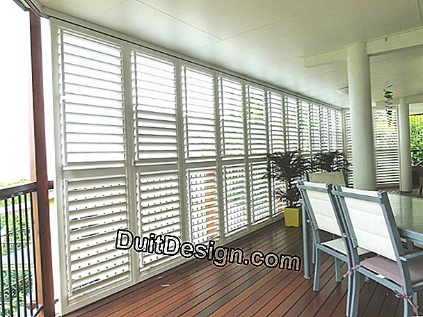 Quote for veranda shutters