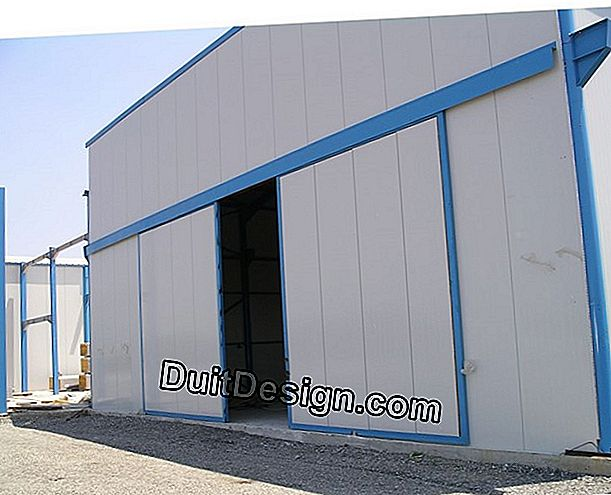 The industrial sliding door