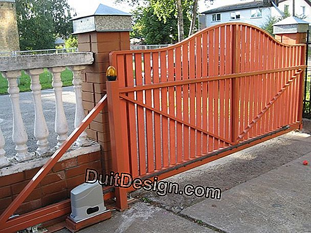 The sliding gate, a modern solution