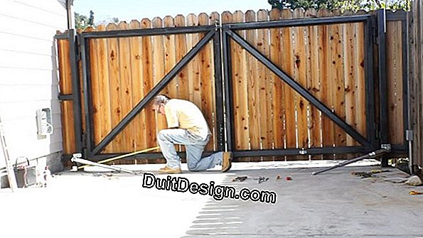 Install your swing gate