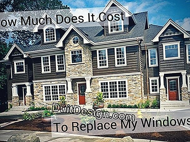 What price for replacing windows?