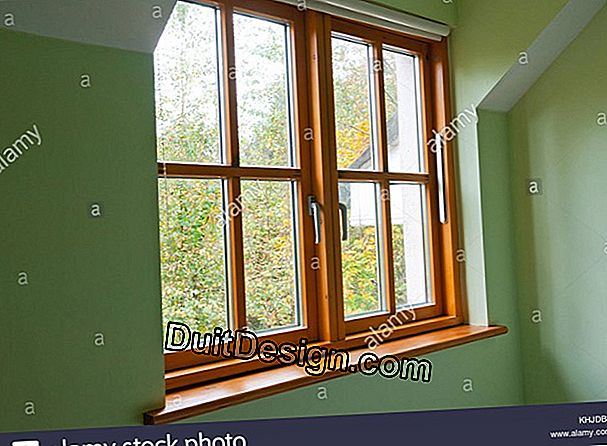 The single glazed window