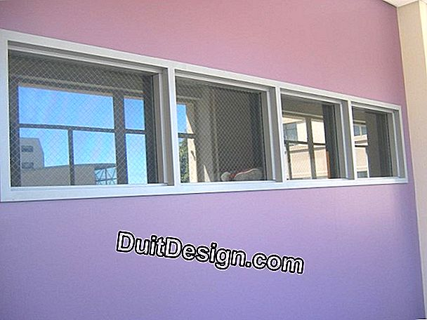A window with reinforced glazing